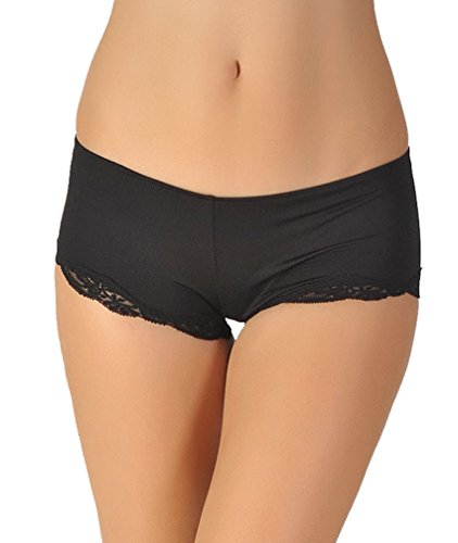 Only Hearts Women's Delicious Lace Hipster - 5656,Black,Medium