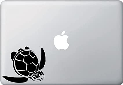 Sea turtle honu macbook or laptop vinyl decal copyright 2014 yadda