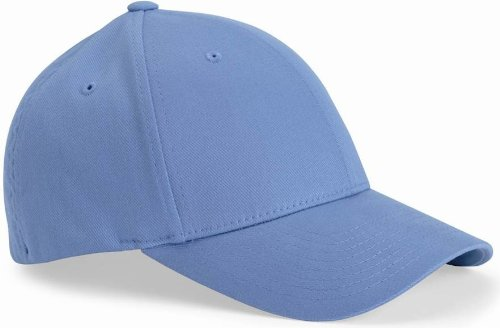 97788326d0e Flex fit Flexfit 6590 Organic Brushed Twill Low-Profile Cap Light Blue S M   Amazon.co.uk  Clothing