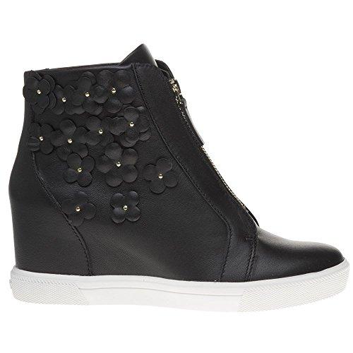 Noir Noir Femme Baskets Wedge Connie DKNY Sneaker Mode qZ0Hw