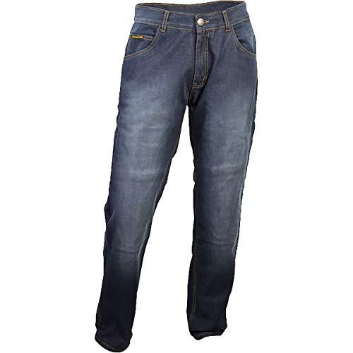 (ScorpionExo Covert Pro Jeans Men's Reinforced Motorcycle Pants (Wash, Size 34))