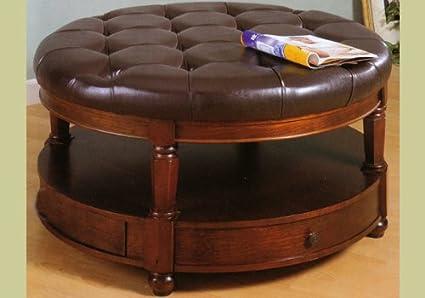 Astounding Amazon Com Large Leather Like Storage Ottoman By Coaster Creativecarmelina Interior Chair Design Creativecarmelinacom