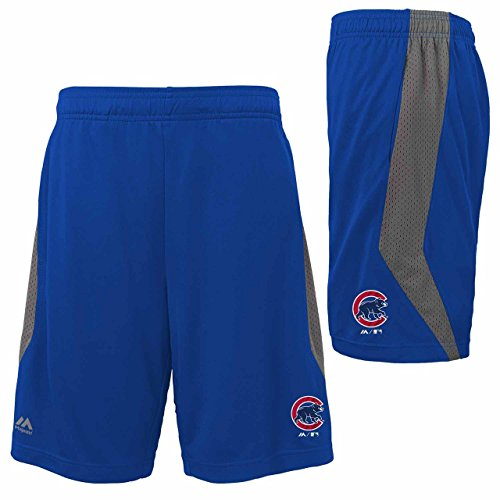 Kids Chicago Cubs MLB Excitement Shorts - Royal , Kids 5-6