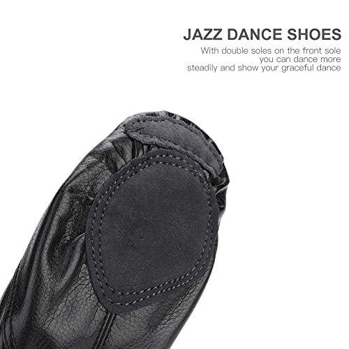 Jazz 28 Filfeel Para De Baile Adultos Corte Cuero Zapatillas 43 Baile Bajo qPSEU