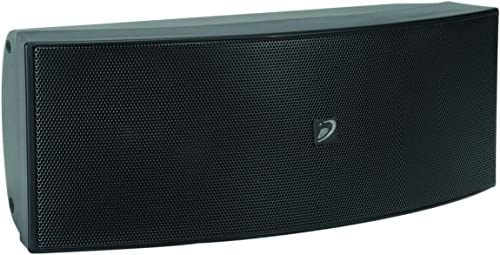 Dayton Audio CCS-33B 3-3 4 3-Way Center Channel Speaker Black