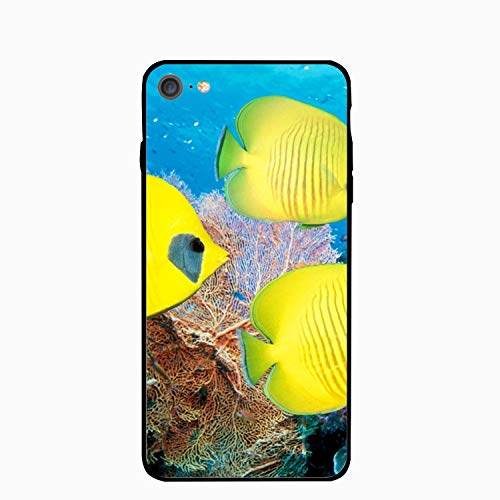 iPhone 6 Case,iPhone 6s Case,Tropical Reef Fish for Girls Women Best Protective Rubber Slim Fit Thin Phone Case Compatible for iPhone 6/iPhone 6s -