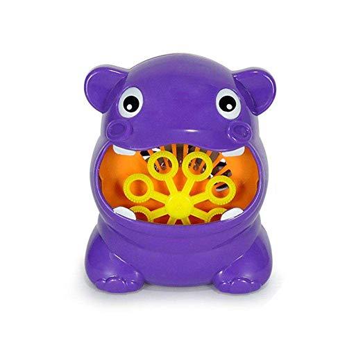 - Argonv Automatic Bath Bubble Machine Baby Bubble Machine Water Gun Hippo Bubble Maker for Kids/Baby/Boys/Girls