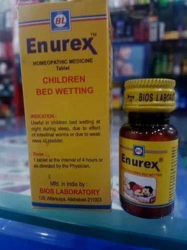 Enurex Tablets for Children Bed Wetting 15gm