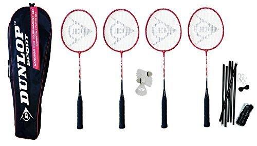 Dunlop NanoMax Pro Premium 4 Player Badminton Set