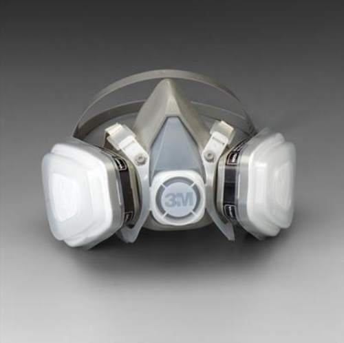 Dual Cartridge Respirator Assembly 52P71, Organic Vapor/P95, Medium 52P71