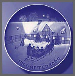 Bing & Grondahl 1969 Christmas Plate