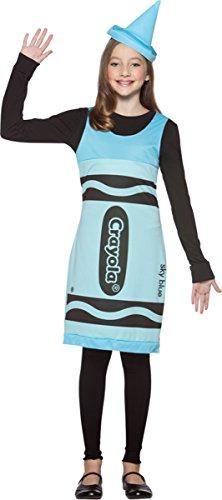 [Crayola Crayon Tank Dress Costume - Tween] (Tween Crayon Costumes)