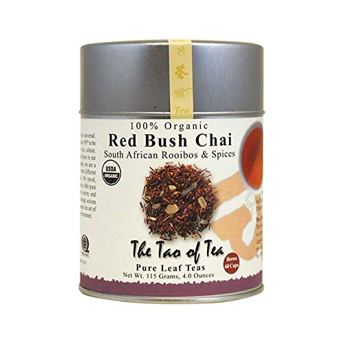 (Red Bush Chai South African Rooibos & Spices 4 Ounce Can)