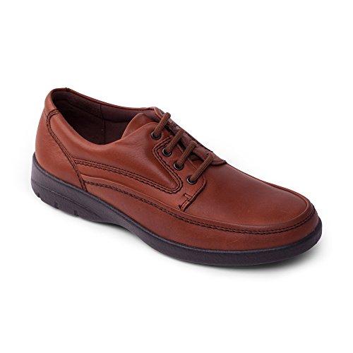 嘻呱PAD Lunar - Zapatos de cordones para hombre - canela
