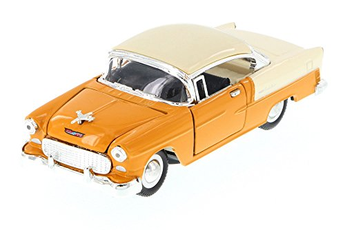 - Sunnyside 1955 Chevy Bel-Air Hard Top, Tan 5720D - 1/34 Scale Diecast Model Toy Car but NO BOX