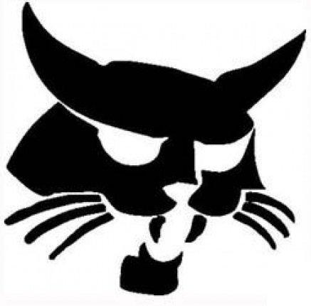 bobcat-die-cut-vinyl-white-sticker-9-width-by-85-height