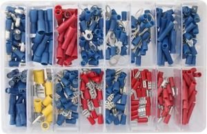 bargainbitz mixed auto electrical crimp terminal connector spade rh amazon co uk auto wiring connectors uk Car Wiring Connectors
