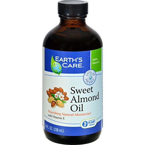 2Pack! Earth's Care 100% Pure Sweet Almond Oil - 8 fl oz by Earth's Care (Image #2)