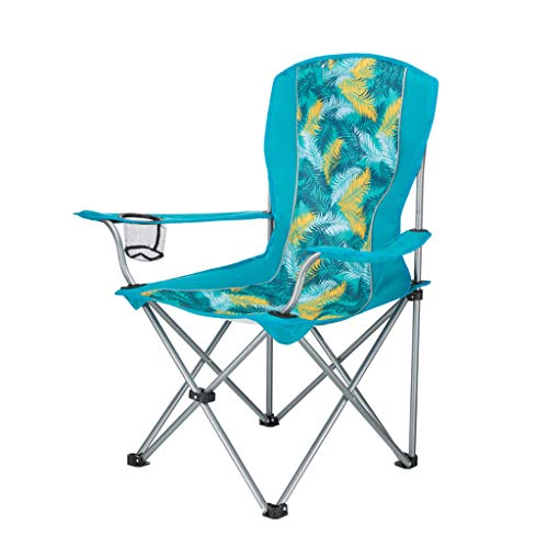 YAXIAO-Folding chair Fishing Chair Portable Folding Beach Chair Mazar Outdoor Sketching Home Siesta Chair (84 50 96cm…