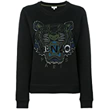Kenzo Women's F762sw7054xd99 Black Cotton Sweatshirt