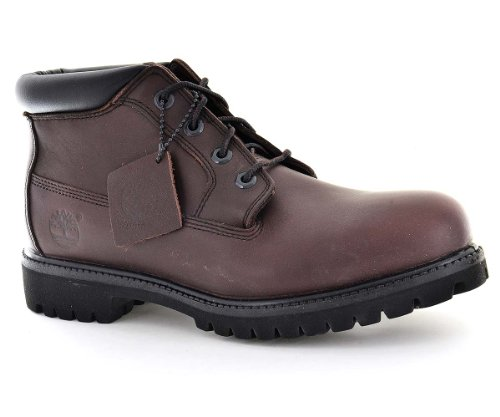 Timberland Mens Work Boots Size 7 M 1035R Af Prem Chukka Burgundy (Timberland Chukka Men Work Boot)