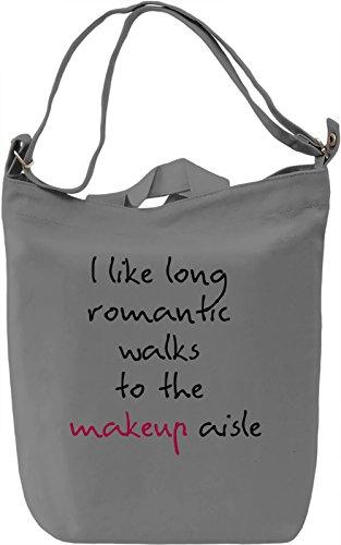 Makeup Aisle Borsa Giornaliera Canvas Canvas Day Bag| 100% Premium Cotton Canvas| DTG Printing|