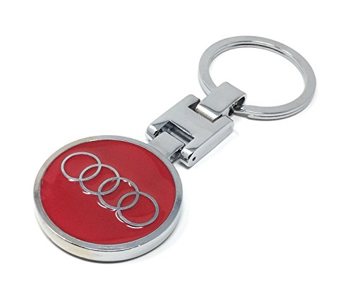 audi-keychain-red-both-side-audi-brand-logo-special-cheetah-edition