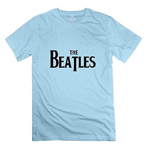 StaBe Men's The Beatles Logo T-Shirt Pre-cotton Vintage