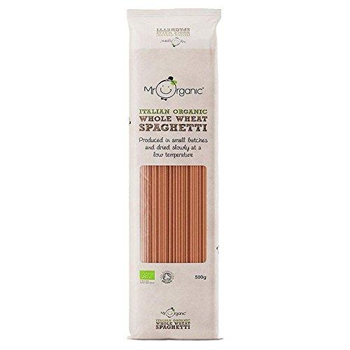 Mr Organic Whole Wheat Spaghetti - 500g (1.1lbs)