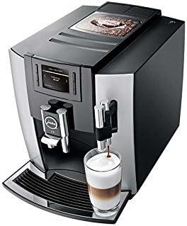JURA E8 Independiente Máquina espresso Negro, Platino 1,9 L 16 tazas Totalmente automática - Cafetera (Independiente, Máquina espresso, 1,9 L, Molinillo integrado, 1450 W, Negro, Platino): Amazon.es: Hogar