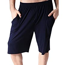 LETSQK Men's Solid Swrim Trunk Plus Size Stretchy Surfing Cool Dry Swimsuit