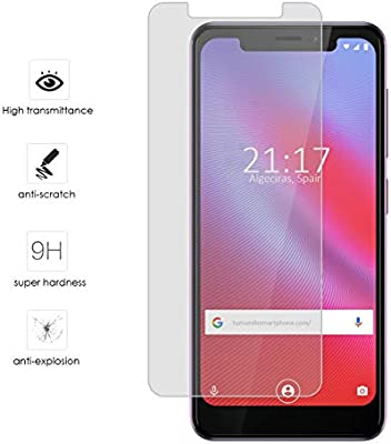 Protector Cristal Templado para Vodafone Smart N10 Vidrio: Amazon ...
