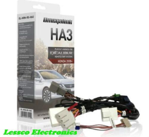 Omega OL-HRN-RS-HA3 T Harness Remote Start for 2008+ Honda/Acura Makes & Models