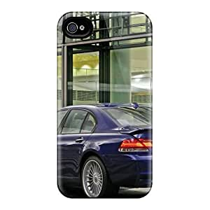 New Design Shatterproof Oac10728fFGY Cases For Iphone 4/4s (bmw Alpina B7 Rear Angle)