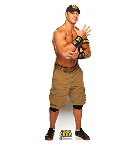 Wwe Cut Out - John Cena - WWE - Advanced Graphics Life Size Cardboard Standup