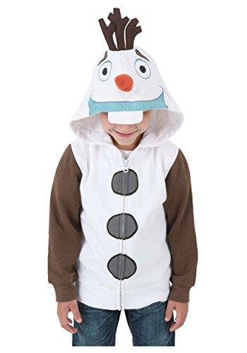 Boys Frozen I Am Olaf Hoodie Costume