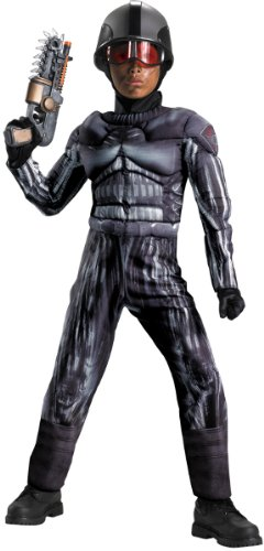 Operation Rapid Strike Red Sector Exo Swat Classic Muscle Boys Costume, 4-6]()