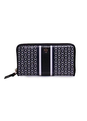 Tory Burch Gemini Link Continental Wallet in Black