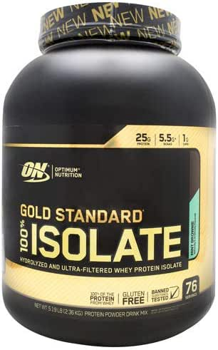 Protein & Meal Replacement: Optimum Nutrition Gold Standard Isolate