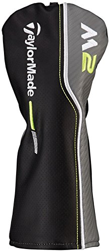 Fairway Wood Cover - TaylorMade NEW 2017 M2 Black/Gray/Lime Green Leather Fairway wood Headcover