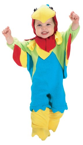 [Rubie's Costume EZ-On Romper Costume, Parrot, 6-12 Months] (Parrot Infant Costumes)