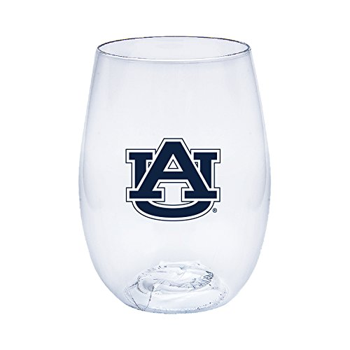 Auburn Tigers Govino Shatterproof Wine or Beverage Glasses - Boxed set of (Auburn Tigers Beverage)