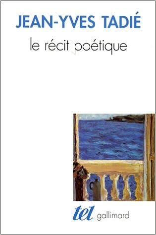 Le Récit poétique pdf