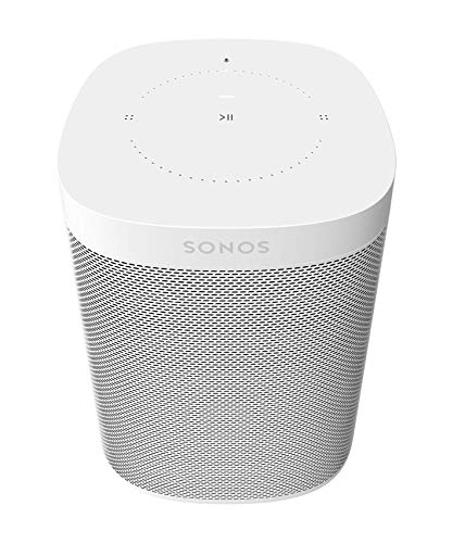Sonos One (Gen 2) - Voice Controlled Smart Speaker with Amazon Alexa Built-in - White (Computer Games For Couples To Play Together)