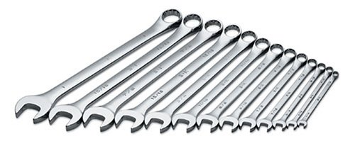 (SK 86017 SuperKrome 13 Piece 12 Point 1/4-Inch to 1-Inch Long Pattern Combination Wrench Set)