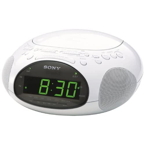 Sony ICF-CD831 CD Clock Radio with FM/AM...