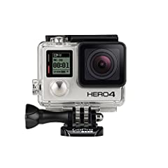 Capture your world in an all-new way with HERO4 Silver, the first-ever GoPro to feature a built-in touch display. Controlling the camera, framing shots and playing back content is now ultra convenient-just view, tap and swipe the screen. HERO...
