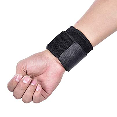 Compression Wrist Band Support Strap Wraps Sports Safety Wristband Gym Fitness Weights Lifting Powerlifting Wrist Estimated Price £8.19 -