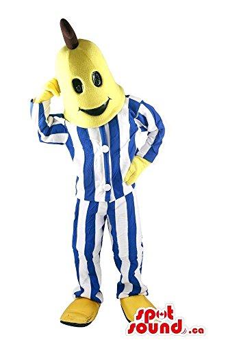 Cool Well-Known Bananas In Pyjamas Character Plush Mascot SpotSound (Bananas In Pyjamas Fancy Dress Costumes)