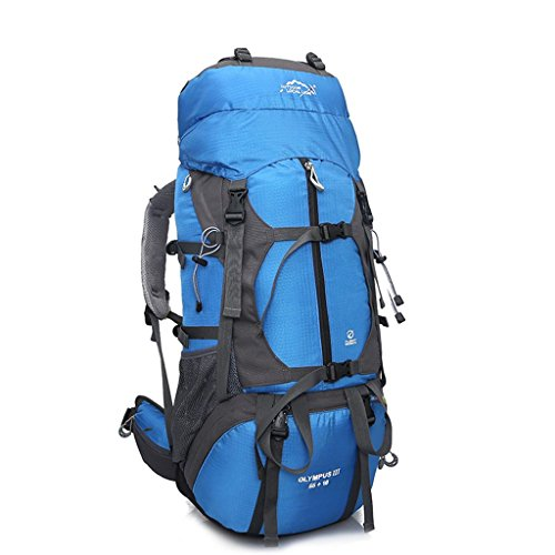 Local Lion 65 Liter Erwachsene Trekkingrucksäck /Backpack,Blau